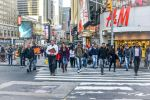 People at Times Square - NYC Manhattan by Rikitza