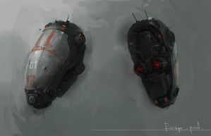 Escape pod by JimHatama