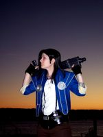 The Man with the Machine Gun by Kahlan4