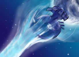Lugia used Aeroblast by darren1993