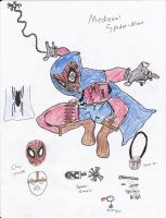 Medieval Spider Man by GodzillaPride