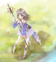 Atelier Totori by chikappi