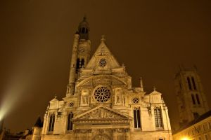 St Genevieve  at night by Anantaphoto