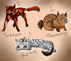 Warrior adoptables[OPEN] by fifisart
