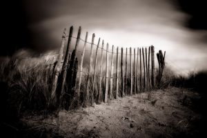 against the oncoming storm by sparxphoto