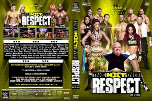 WWE NXT Takeover Respect 2015 DVD Cover by Chirantha