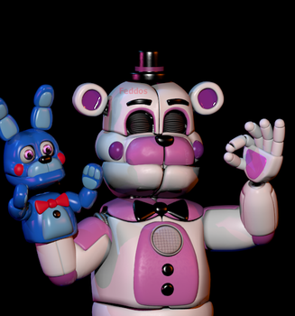 When The Funtimefreddy Model Is Just Right by SpringTrapGames