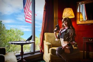 Sky city - Bioshock Infinite - Otakon 2013 by ByndoGehk