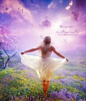 Run Away by AngeliaArt