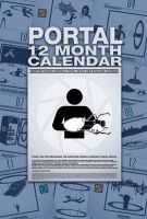 Portal 12 month Calendar by R-evolution-GFX
