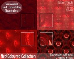 Red Coloured Collection by ML-Worlds