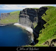 Cliffs of Moher by turtaieu