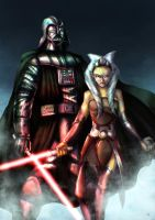 Darth Vader Darth Asoka by cric
