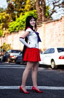 Sailor Mars by BlackandPinkDoll by DraconPhotography