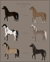 Horse Adoptables Set 10 CLOSED by Paardjee