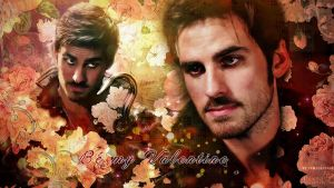 Captain Hook / Killian Jones Valentine wallpapers by Venerka