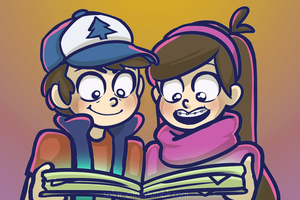 Gravity Falls by SOLAR-CiTRUS