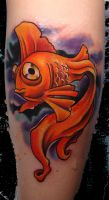 golden fishie by scottytat2