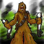 Let the Wookie Win by RedGrimRune