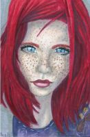 Realistic Ginger . . . by TheLuckyStarhopper