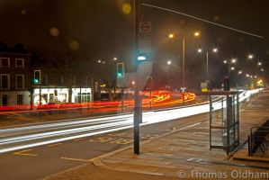 Kingston Cars Long exposure 5 by Tom11170