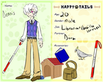 Happy Tails Application: Dennis Fairway by Something-Angelic