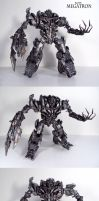 Transforming Custom Leader ROTF Megatron by Unicron9