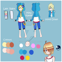:UTAU: Mika Kaede Reference Sheet by UTAU-Eve
