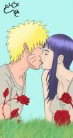 NaruHina Kiss by Alex-Va