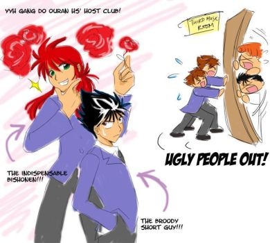 YYH Ouran by laurbits