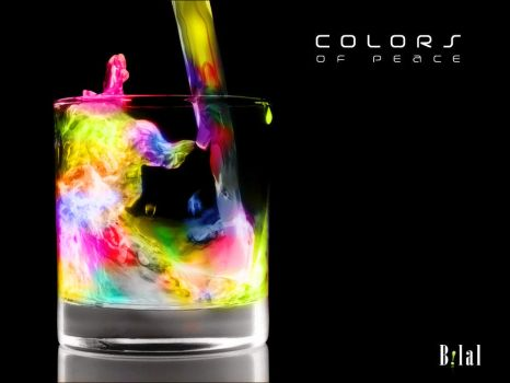 COLORS OF PEACE   (RACELESS:1) by workstation