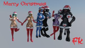 Christmas Party-Fk by F-Kn