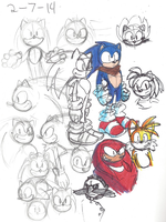 Sonic Sketch 10 by eppoif1