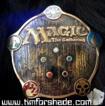 Magic The Gathering belt buckle MTG by TimforShade