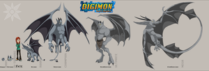 Digimon Fate Team by ArcaneAvis