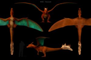 Charizard - 3D model by ChrisMasna