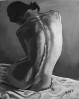 back study my painting by cliford417