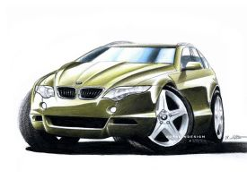 BMW X5 by husseindesign