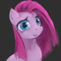Pinkamena by Swallowchaser