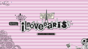 wallpaper love paris by creamanuali