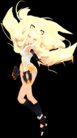 [MMD] Wip - SeeU - Append x Base by ColorsOfOrion