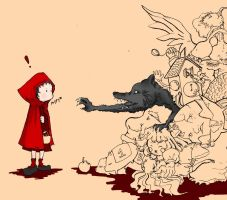 Little Red Riding Hood by Forcuera