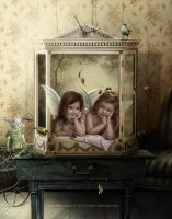 AngelCabinet by CindysArt