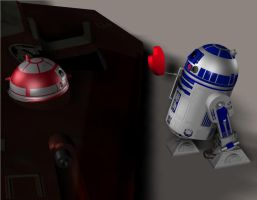 R2 and R4 valentines by Robotlouisstevenson