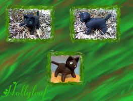 Hollyleaf Plushie by FoxLover12
