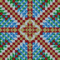 Cross Quilt by JennK777
