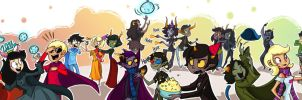 Happy Homestuck New Year! by Violet1202