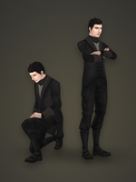 Male Char 01 Clothes by PLyczkowski