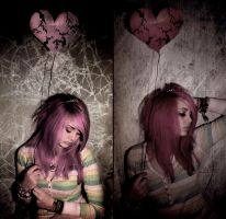This heart of mine by LeftRightBlackWhite