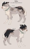 Mia: Design Reference by Tazihound